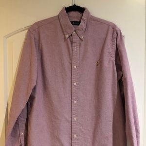 Light Purple Button up shirt